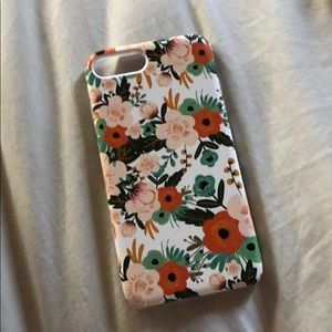Accessories - iPhone 7 Plus Modern Floral Case Cover